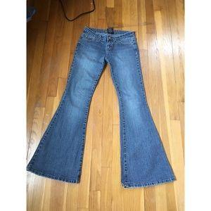 Wet Seal bellbottom jeans